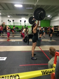 First workout- Thrusters. NOT my friends...
