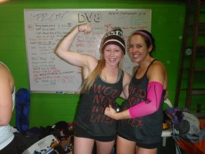 I had the best partner! Team Wod Now Wine Later! And wine we did...