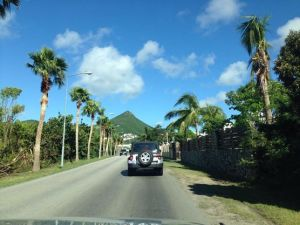 Cruising around St. Maarten